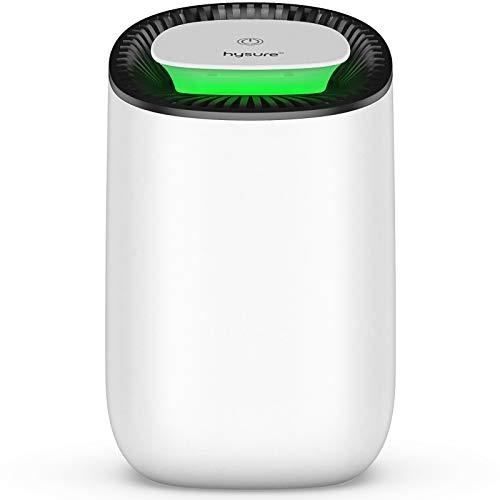 hysure Quiet and Portable Dehumidifier Electric, Deshumidificador, Home Dehumidifier for Bathroom, Crawl Space, Bedroom, RV, Baby...