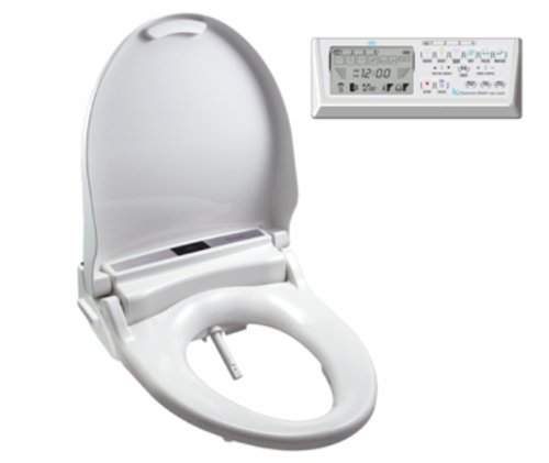 Clean Sense dib-1500R Bidet Seat Elongated with...