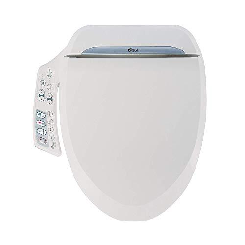 BioBidet BB-600 Bidet Toilet Seat, Elongated White