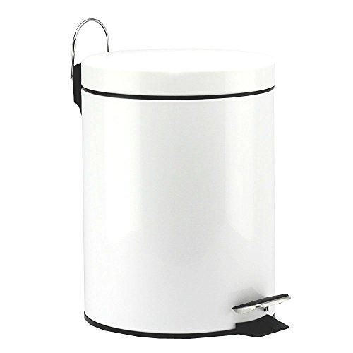 MEKBOK 5 Liter/1.3 Gallon Round Step Color Trash...