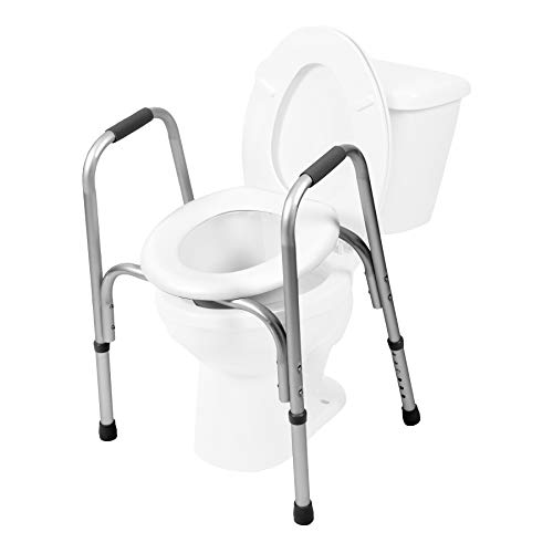 PCP Raised Toilet Seat and Safety Frame...