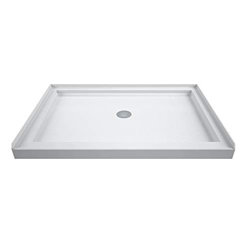 DreamLine SlimLine Single Threshold Shower Base in White | DLT-1136480