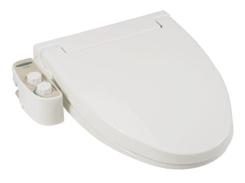 Feel Fresh HI-1000WT Round Non-Electric Bidet Seat (White)