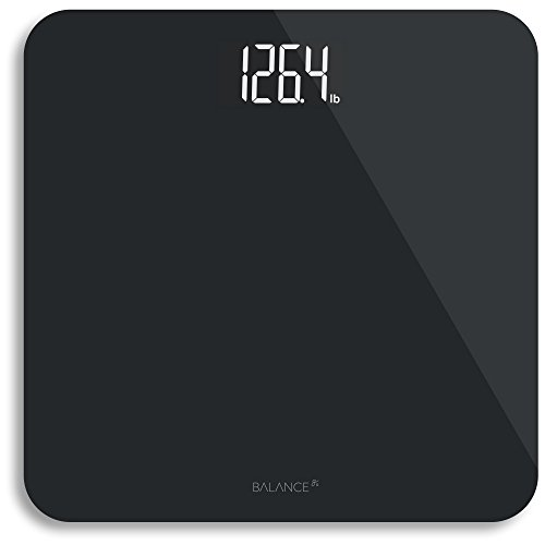 Greater Goods Digital Weight Bathroom Scale, Shine-Through Display, Accurate Glass Scale, Non-Slip & Scratch Resistant, Body...