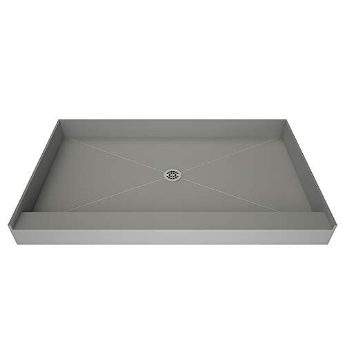 Redi Base Integrated Shower Pan with Center Drain...