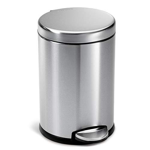 simplehuman 4.5 Liter / 1.2 Gallon Compact Round...