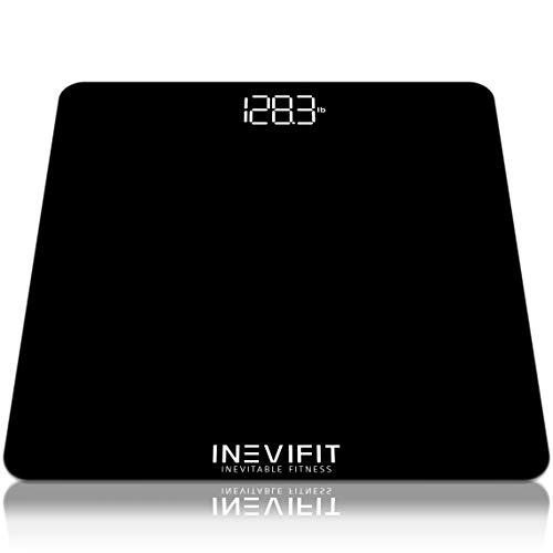 INEVIFIT Bathroom Scale, Digital Bathroom Body...