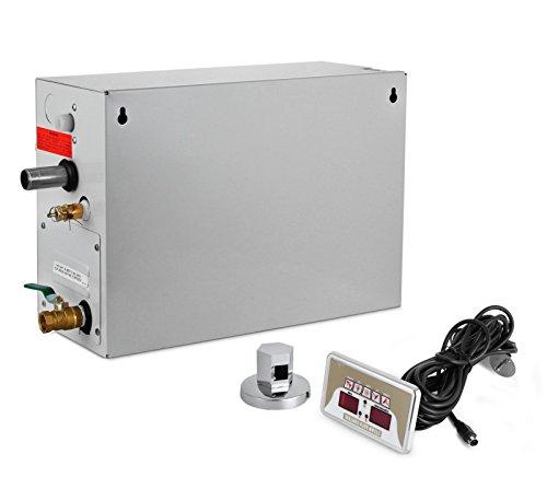 Mophorn Steam Generator 9KW Steam Room Generator Digital Display Steam Generator Sauna Shower Steam Generator for Home Commercial...
