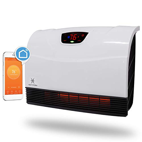 Heat Storm HS-1500-PHX-WIFI Infrared Heater, WiFi...