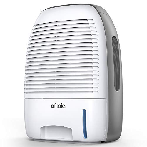 Afloia Dehumidifier for Home 52oz(1500ml) Capacity Ultra Quiet for 2200 Cubic Feet (250 sq ft) Portable Dehumidifiers for...