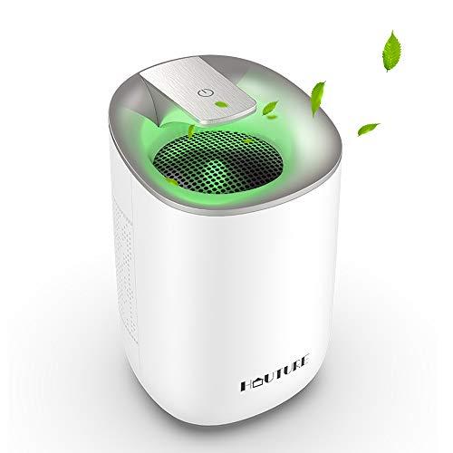 2020 Electric Mini Dehumidifier, 1500Cubic Feet (170 sq ft) Portable and Compact 600ml( 20 oz) Capacity Quiet Small Dehumidifier...