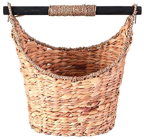 Vintiquewise(TM) Rustic Toilet Paper Holder/Magazine Basket