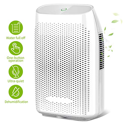 Honati Home Dehumidifier, 2000ml Ultra Quiet Small...