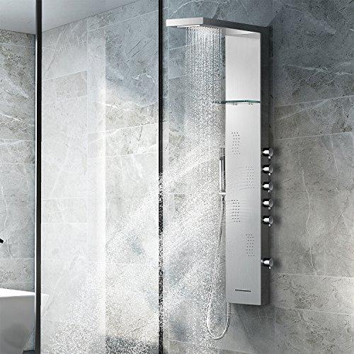 Vantory Shower Panel Head SUS 304 Stainless Steel...